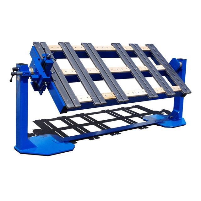 Поворотные сварочные столы с регулировкой оси центра тяжести