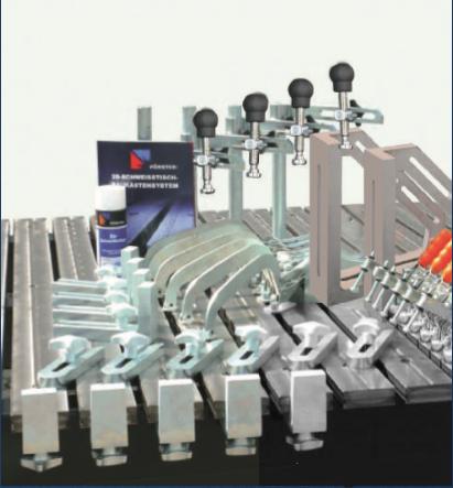Комплект приспособлений для сварки рам 65013101
