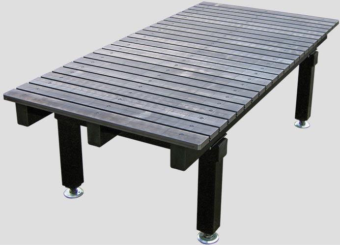 Стандартные сборочно-сварочные столы (стационарные/передвижные)