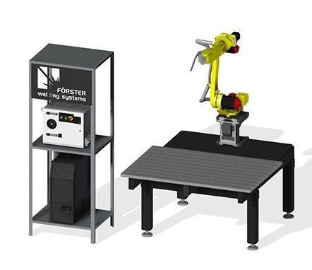 Сварочный робот с приборным столом